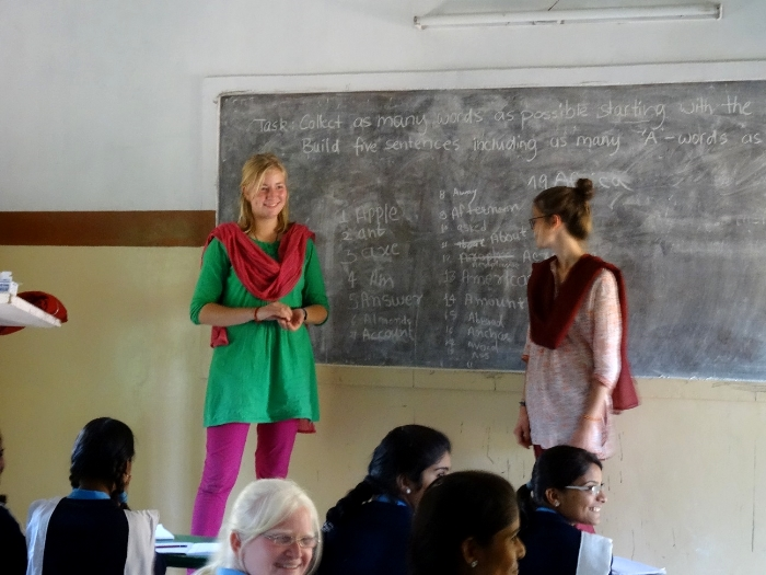 In der Privatschule