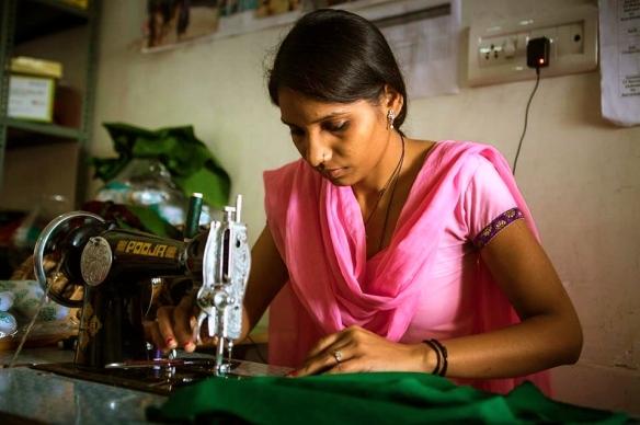 Usha sewing